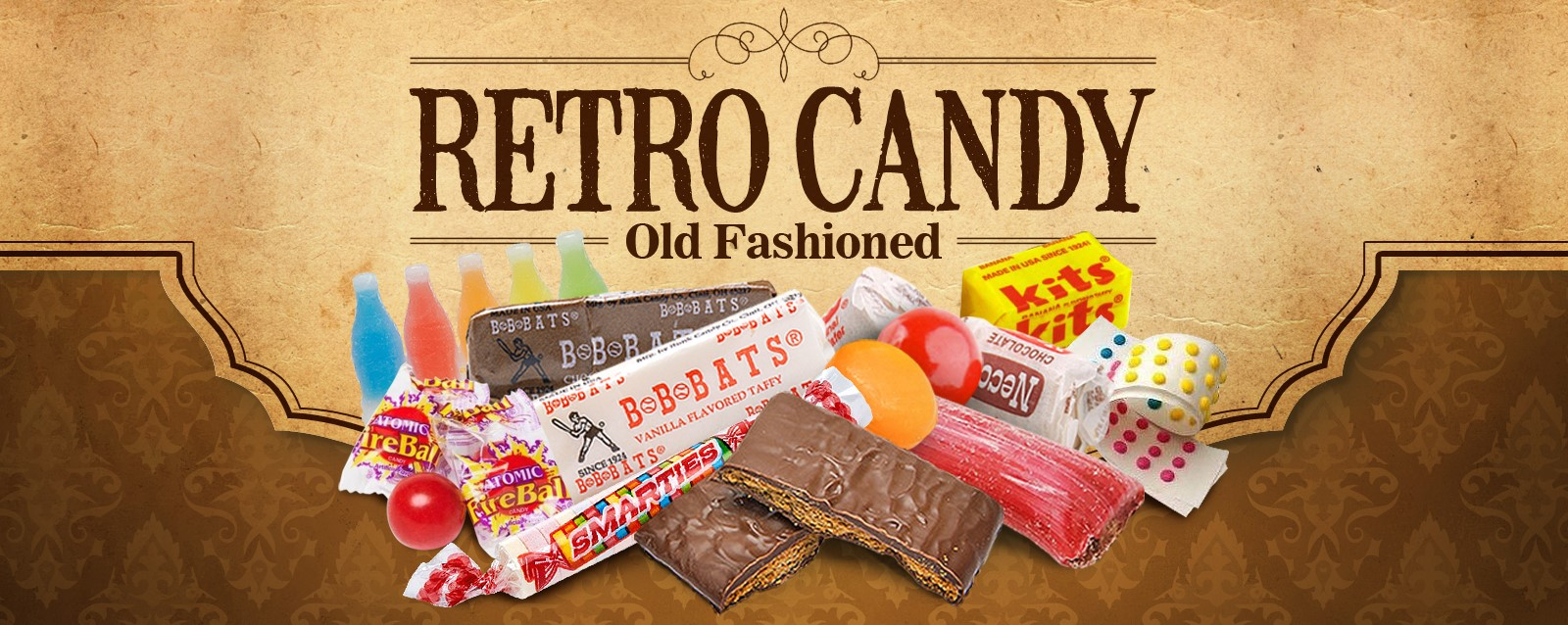 Sweet Gourmet Retro Candy-Old Fashioned - Themes