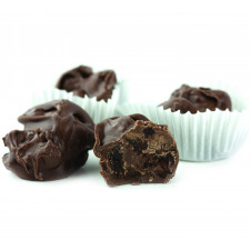 SweetGourmet Asher's No Sugar Added Milk Chocolate Raisin Cluster
