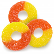 SweetGourmet Albanese Sugar Free Gummi Peach Rings