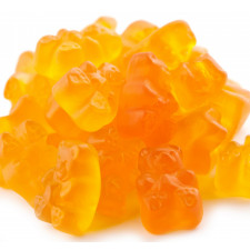 SweetGourmet Albanese Gummi Bears, Passion Peach