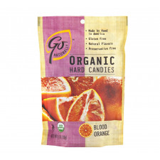 SweetGourmet Go Organic Organic Blood Orange Candy