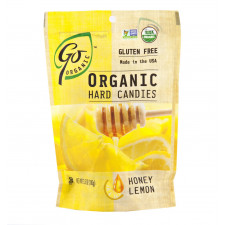 SweetGourmet Go Organic Organic Honey Lemon Candy