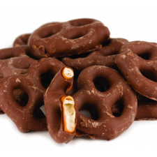 SweetGourmet No Sugar Added Milk Chocolate Mini Pretzels