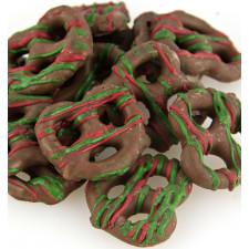 SweetGourmet Christmas Chocolate Pretzels