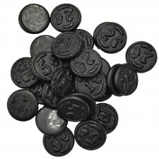 SweetGourmet Gustaf's Money Salt Licorice - Coins (Muntendrop)