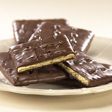 SweetGourmet Asher's Milk Chocolate Coated Graham Crackers