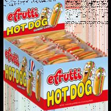 SweetGourmet E.Frutti Gummi Hot Dog, 60ct