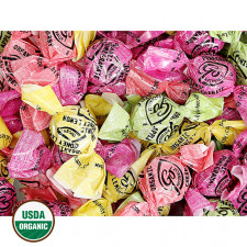 GoOrganic Assorted Organic Hard Candies Bulk (Honey-Lemon, Pomegranate, Cherry, Green Apple)