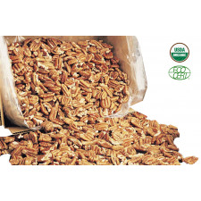 SweetGourmet Pecan Organic Large Pieces