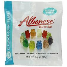 SweetGourmet Albanese Sugar Free 12 Flavor Gummi Bears