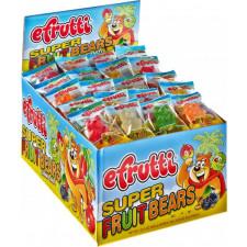 SweetGourmet E.Frutti Gummi Super Fruit Bears, 80ct