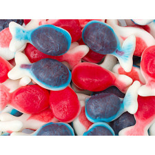 SweetGourmet Jelly Filled Whales Gummi