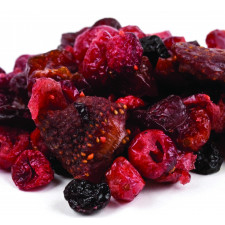 SweetGourmet Dried Mixed Berries-Strawberry Cranberry-Blueberry-Cherry