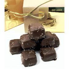 SweetGourmet Asher's Sugar Free Milk Chocolate Vanilla Caramel with Sea Salt