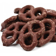 SweetGourmet Chocolate Coated Mini Pretzels