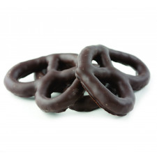 SweetGourmet Asher's Dark Chocolate Covered Pretzels