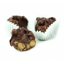 SweetGourmet Asher's Sugar Free Milk Chocolate Peanut Cluster