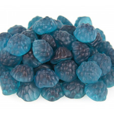 SweetGourmet Albanese Gummi Raspberries Burstin' Blue