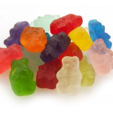 SweetGourmet Albanese Gummi Bears, 12 Flavor