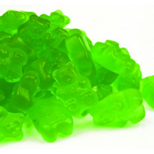 SweetGourmet Albanese Gummi Bears, Granny Smith Apple