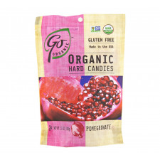 SweetGourmet Go Organic Organic Pomegranate Candy