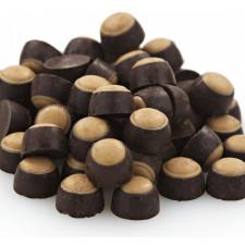 SweetGourmet Mini Dark Chocolate Peanut Butter Buckeyes