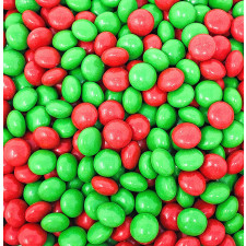 SweetGourmet Richardson Christmas Gourmet Chocolate Mints, Red & Green