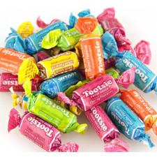 SweetGourmet Tootsie Assorted Flavor Tootsie Roll