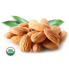 SweetGourmet Almonds Organic Raw