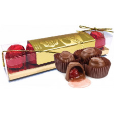 SweetGourmet Milk Chocolate Cordial Cherry - Favor, Gift Box, 6pc