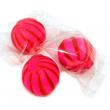 SweetGourmet Cinnamon Striped Balls Wrapped