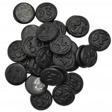 SweetGourmet Money Salt Dutch Licorice Coins | Muntendrop