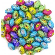 SweetGourmet Easter Mini Chocolate Eggs | Double Crisp