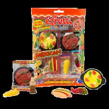 SweetGourmet E.Frutti Mexican Dinner Gummi Theme Bag, 2.7oz