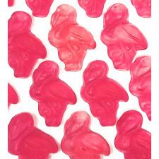 SweetGourmet Gummy Pink Flamingos