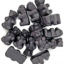 SweetGourmet Black Licorice JuJu Bears