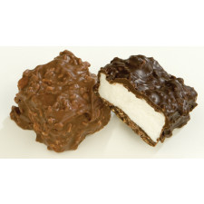 SweetGourmet Asher's Milk Chocolate Toasted Coconut Marshmallow Square