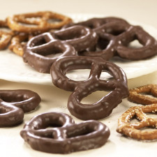 SweetGourmet Asher's Sugar Free Milk Chocolate Pretzels