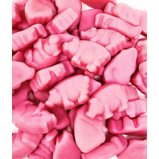 SweetGourmet Strawberry Pink Piglets Gummy
