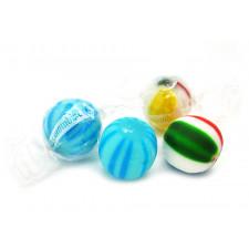 SweetGourmet Colombina Original Candy Jumbo Balls - Cherry & Blue Raspberry