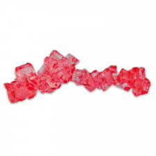 SweetGourmet Red Rock Candy On A String - Strawberry