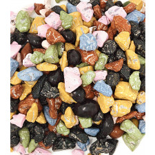 SweetGourmet Candy Coated Chocolate Rocks