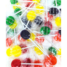 SweetGourmet Assorted Sugar Free Jolly Pops | Bulk Wrapped Lollipops Candy