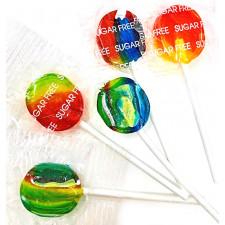 SweetGourmet Sugarless Rainbow Pediatric Lollipops