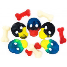 SweetGourmet Pirate Skulls and Bones gummy
