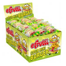SweetGourmet E.Frutti Gummi Mini Sour Burgers, 60ct