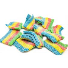 SweetGourmet Sour Rainbow Belts   Mini Licorice Candy