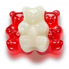 SweetGourmet Valentine Red/White Gummi Bears
