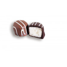 SweetGourmet Asher's Milk Chocolate Coated Vanilla Butter Cream With White String