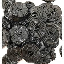 SweetGourmet Broadway Black Licorice Wheels